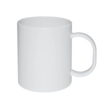 Personalised Polymer Full Color Mug 300ml - White